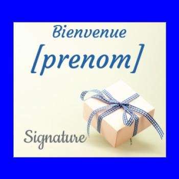 etiquette cadeau naissance bebe garcon bleu
