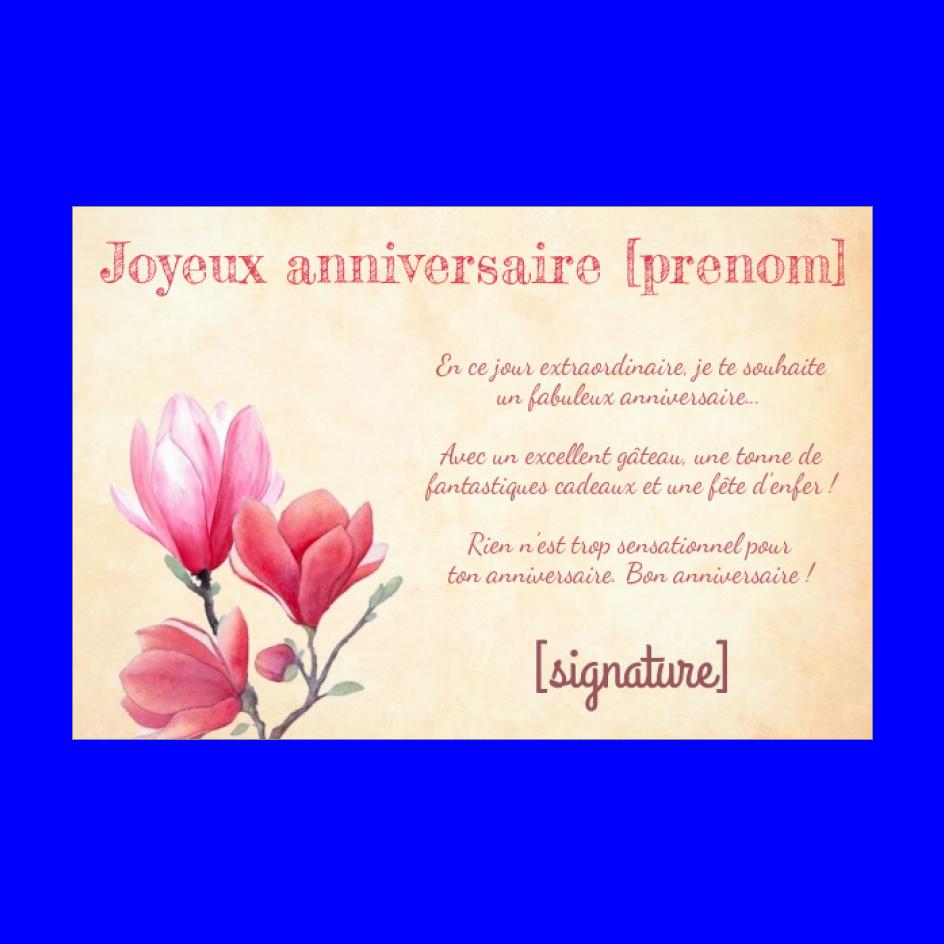 Carte Joyeux Anniversaire Fleur Rose Rouge Gratuit A Imprimer Carte 2257