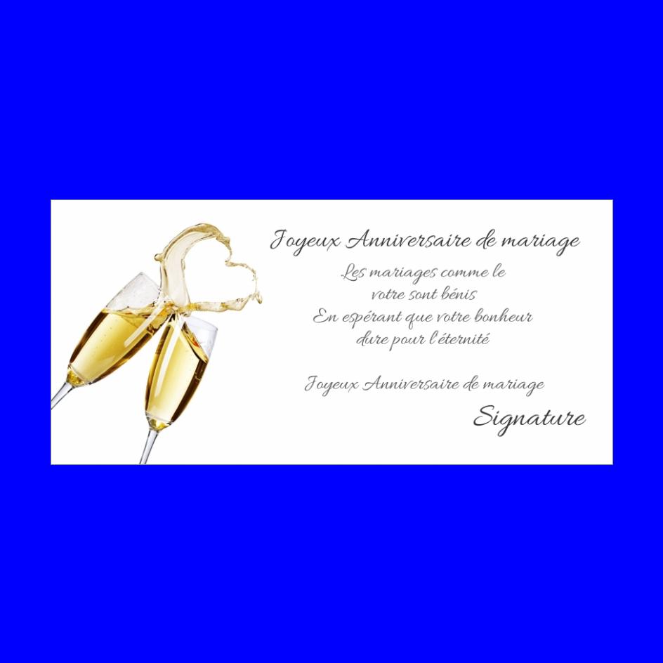Carte Anniversaire Mariage Champagne Coeur Noce Gratuit A Imprimer Carte 2558
