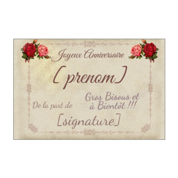 Carte D Anniversaire Originale A Imprimer Gratuit