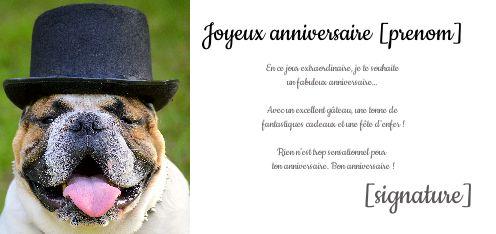 Carte Joyeux Anniversaire Humour Chien Animaux Gratuit A Imprimer Carte 2230