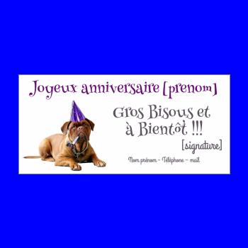 carte invitation anniversaire humour