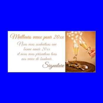 carte de vœux pour la nouvelle ann233e 2019 224 imprimer gratuit