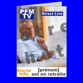 carte felicitation voeux retraite magazine journal humour