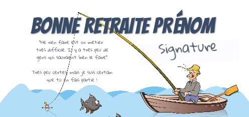 félicitations tout personalise Fête des pères de pêche carte anniversaire retraite