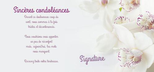 Carte Condoleances Fleur Blanc Gratuit A Imprimer Carte 1297