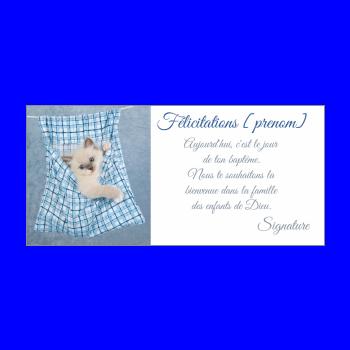 carte felicitation bapteme gratuite a imprimer Carte de félicitation pour un Baptême à imprimer