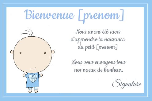Carte Felicitation Naissance Bebe Garcon Bleu Gratuit A Imprimer Carte 754