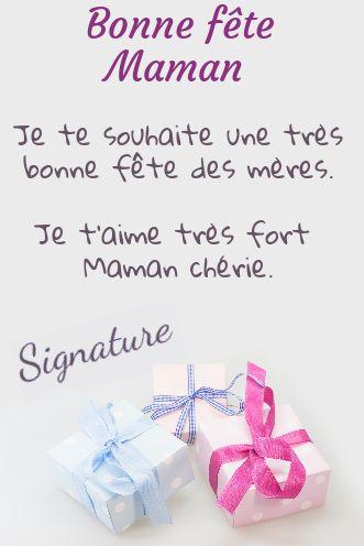Carte Cadeau Maman Fete Rose Bleu Gratuit à Imprimer Carte