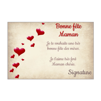 Carte Bonne Fete Maman A Imprimer Gratuit.Cartes Pour La Fete Des Meres A Imprimer Gratuit