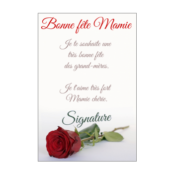 carte fete des grand mere a imprimer Cartes pour la fête des grands mères (mamie)à imprimer gratuit