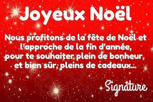Carte Joyeux Voeux Noel Rouge Etoile Gratuit à Imprimer