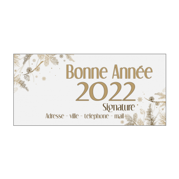 carte de voeux 2020 a imprimer Carte de vœux pour la nouvelle année 2020 à imprimer gratuit