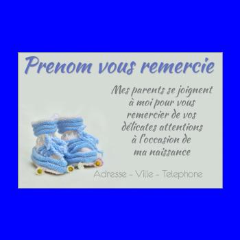 Carte de remerciement pour une naissance imprimer - Carte etape bebe a imprimer ...