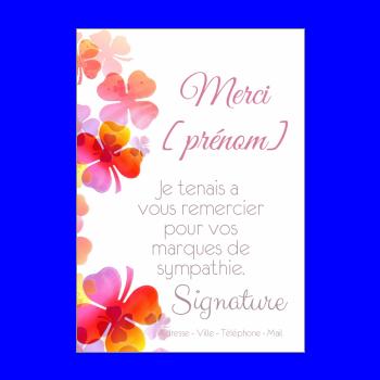 carte de remerciement gratuite à imprimer humoristique Carte de remerciement à imprimer gratuit
