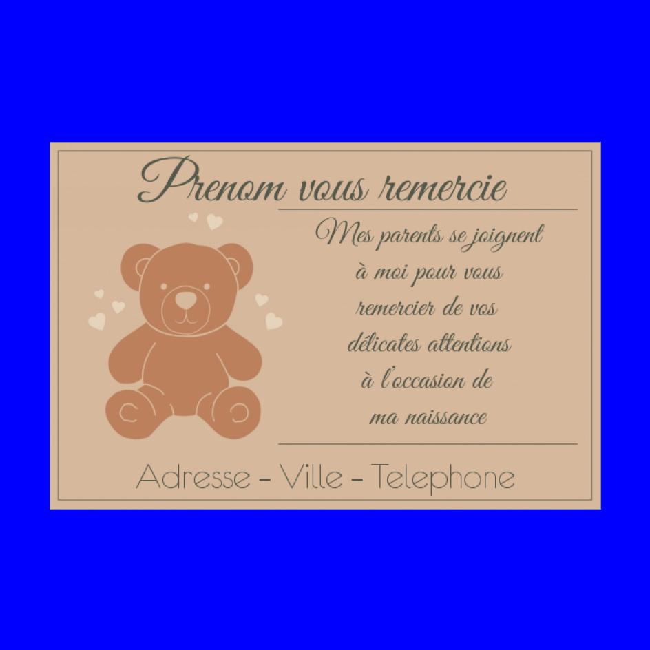 Carte Remerciement Naissance Jouet Bebe Merci Gratuit A Imprimer Carte 3314