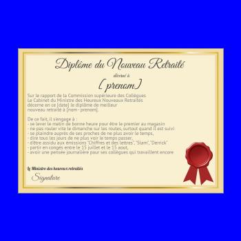 Etiquette Bouteille Retraite Champagne Jaune Noir Gratuit à
