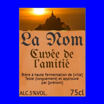 etiquette a imprimer pour bouteille de biere