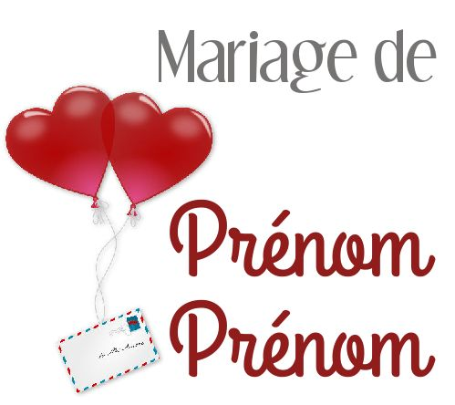 Etiquette Dragee Mariage Cadeau Coeur Lettre Gratuit A Imprimer