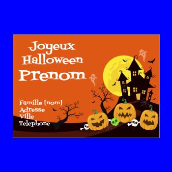 Cartes D Invitation Pour Halloween A Imprimer Gratuit