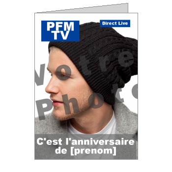 carte anniversaire joyeux magazine journal humour blanc