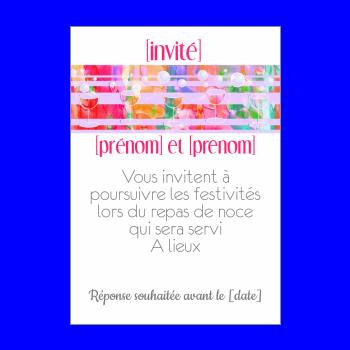 Carte dinvitation au repas de mariage imprimer gratuit carte invitation mariage repas champagne mauve alcool stopboris Gallery