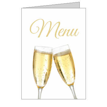 menu bapteme champagne vin blanc