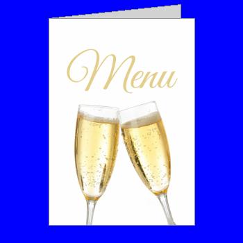 mariage menu champagne blanc alcool