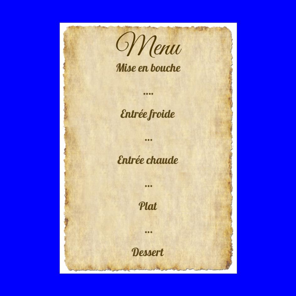 Menu Mariage Lettre Pirate Parchemin Gratuit A Imprimer Carte 2834
