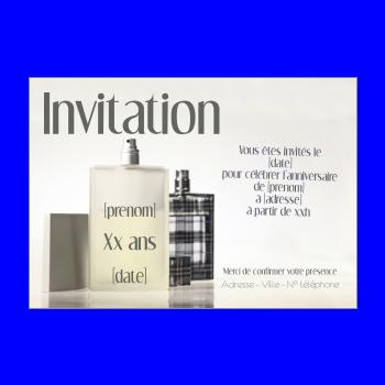 Invitation D Anniversaire 60 Ans Gratuit A Imprimer Ou Envoyer Par Carte Virtuelle