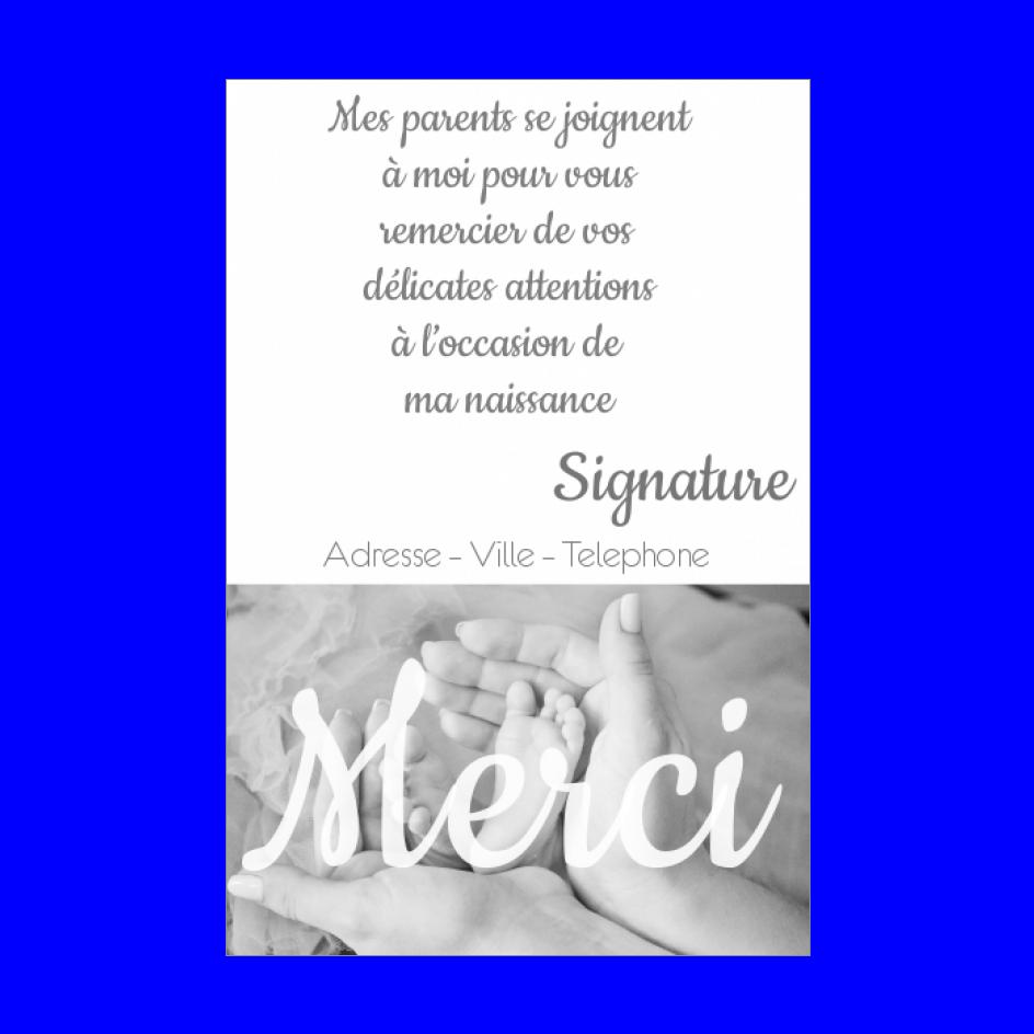 Carte Remerciement Naissance Bebe Merci Noir Gratuit A Imprimer Carte 1982